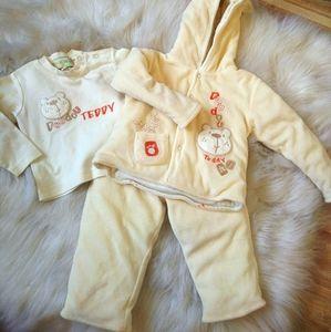 Baby unisex 3 pieces set